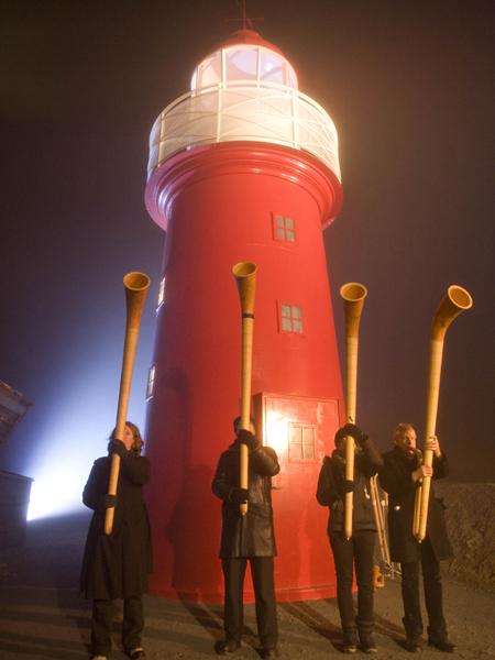 Einweihung Leuchtturm Oberalppass