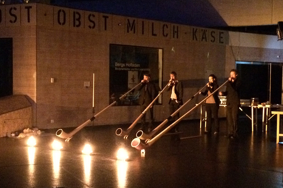 CD-Taufe in der Alten Markthalle Basel