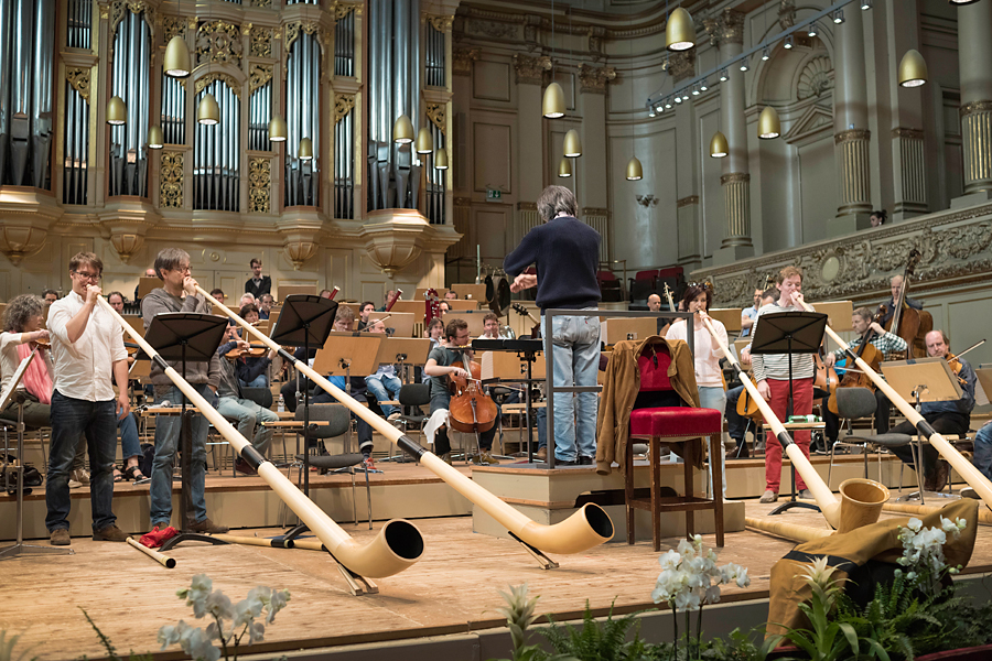 Proben Tonhalle Orchester Zürich