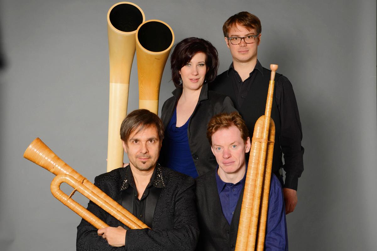 Hornroh Modern Alphorn Quartet Ensemble